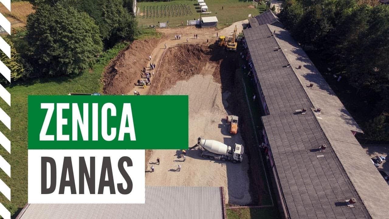 ZENICA DANAS / Počinje gradnja škole u Medakovu