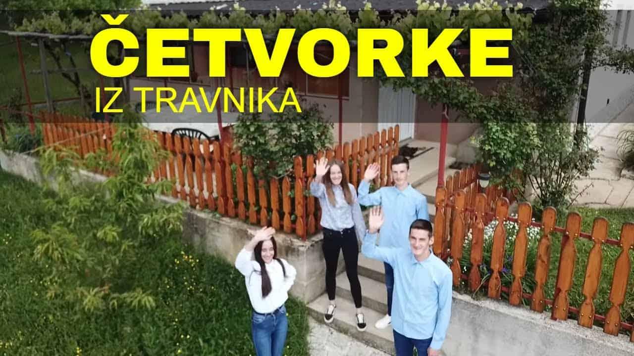 Četvorke iz Travnika su ponos Bosne