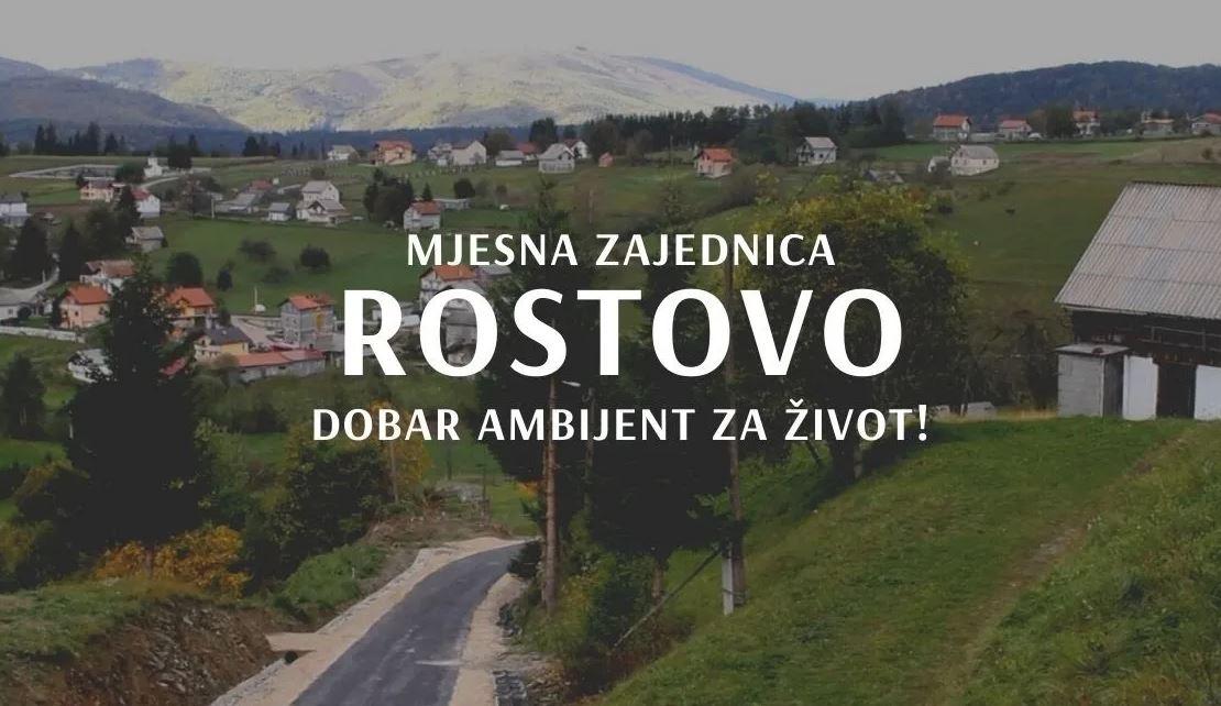 ŽIVOT NA SELU / Mjesna zajednica Rostovo dobar ambijent za život!