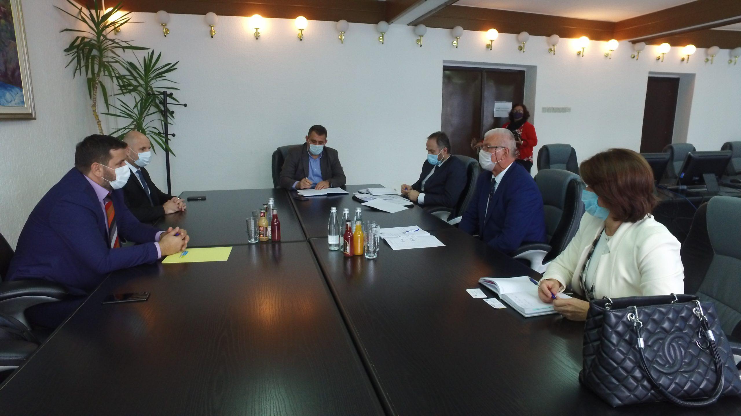 U planu otvaranje poslovnice/ Delegacija Razvojne banke FBiH u Travniku