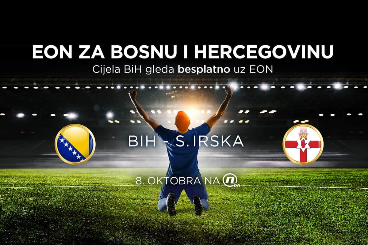 Cijela BiH gleda besplatno reprezentaciju uz EON