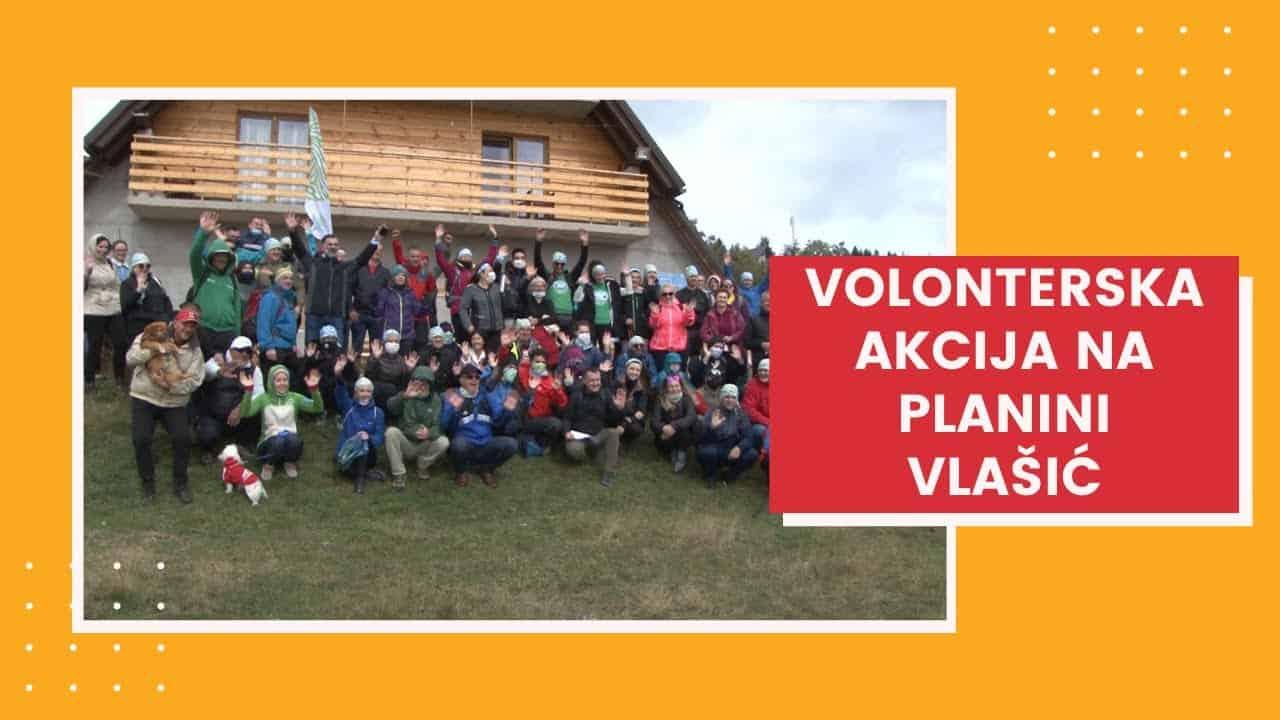 Volonterska akcija na planini Vlašić