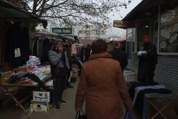 Zelena pijaca/ Pazarni četvrtak u Travniku gubi čar?