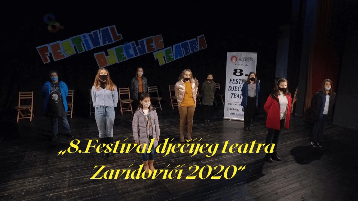 8. Festival dječijeg teatra Zavidovići 2020 / Aplauz nije mjerilo uspjeha!