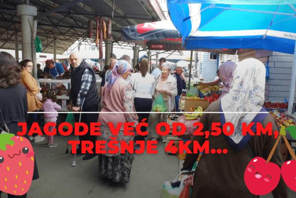 TRAVNIK / Kusur od računa potrošen na pijaci