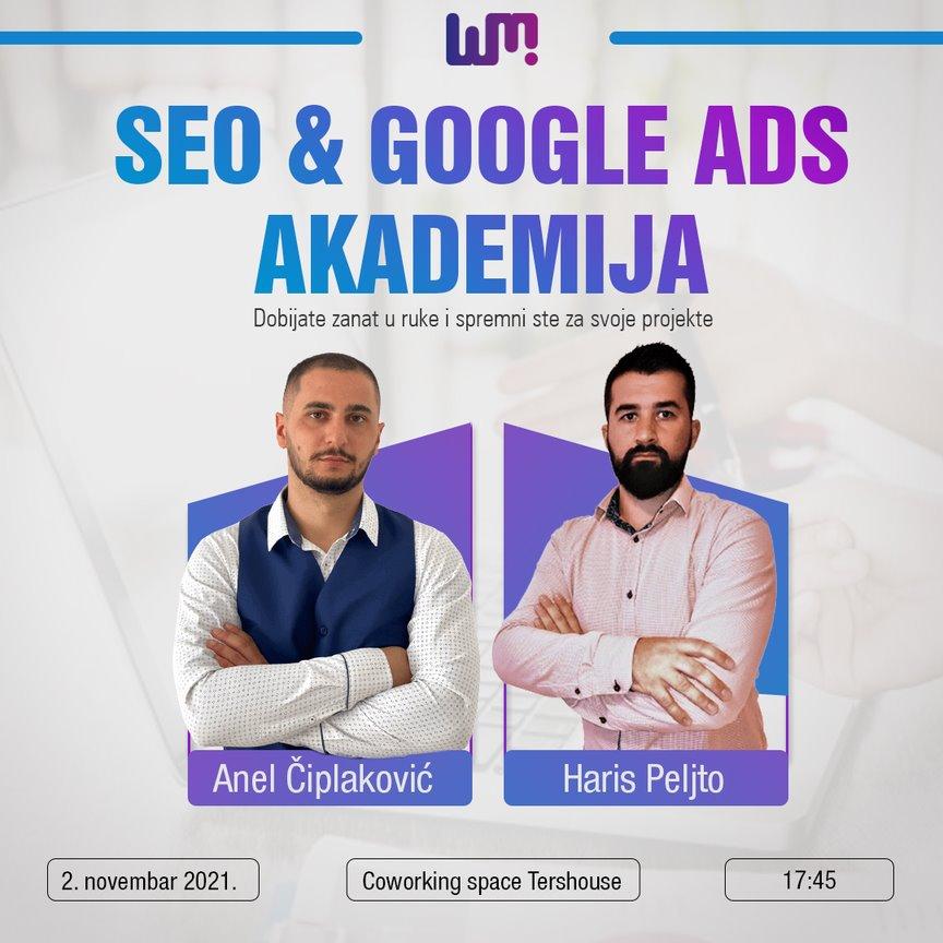 SEO & Google Ads akademija – iskoristite priliku i unaprijedite svoje znanje